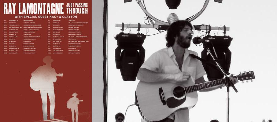 Ray LaMontagne at Thrivent Financial Hall