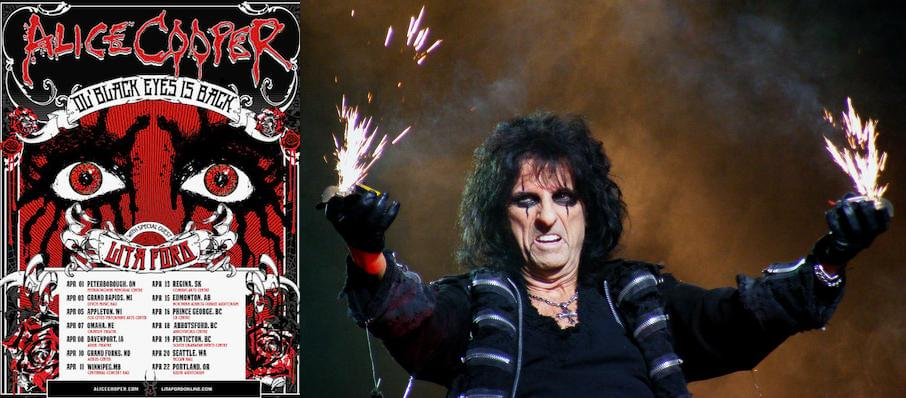 Alice Cooper at Thrivent Financial Hall