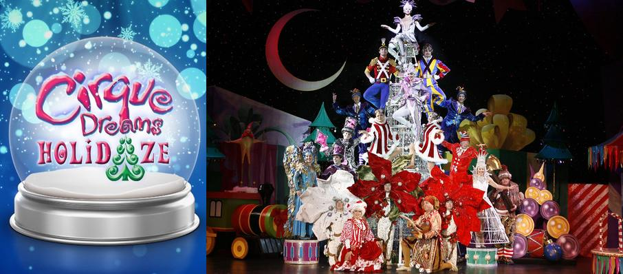 Cirque Dreams Holidaze at Grand Theatre