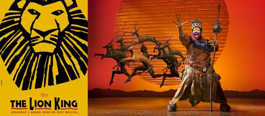 The Lion King at Thrivent Financial Hall